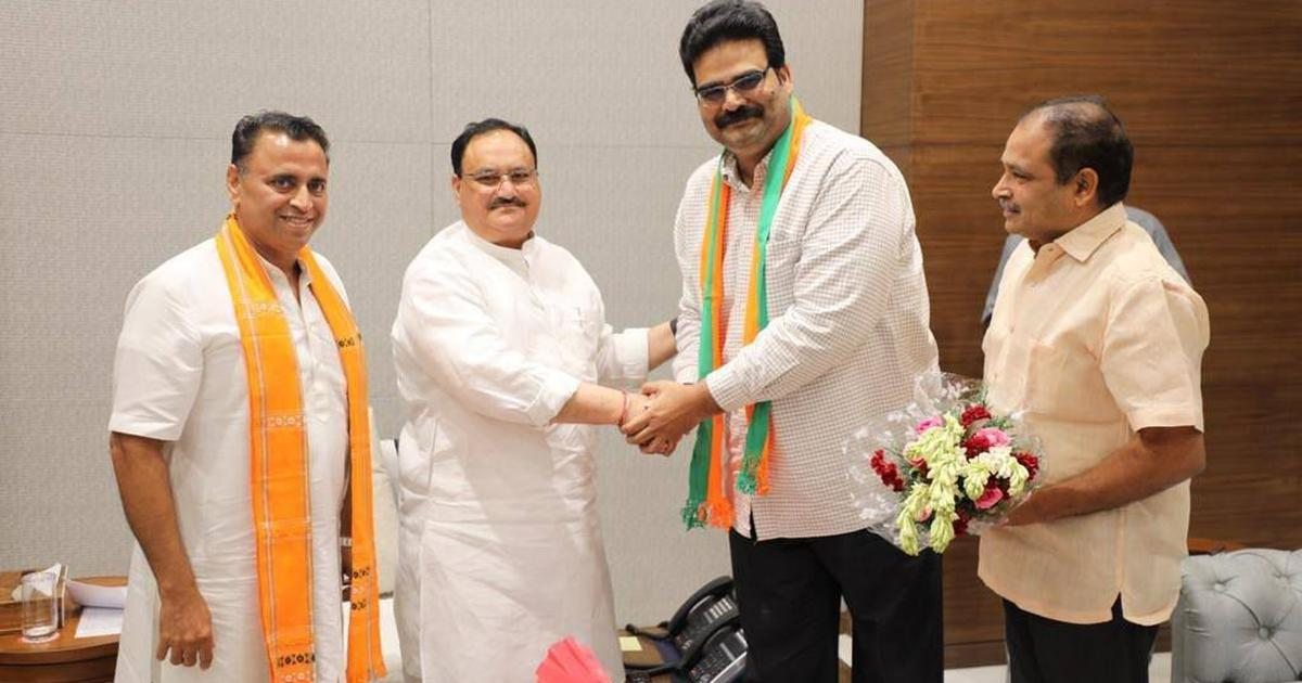 Telugu Desam Party national spokesperson Lanka Dinakar joins BJP