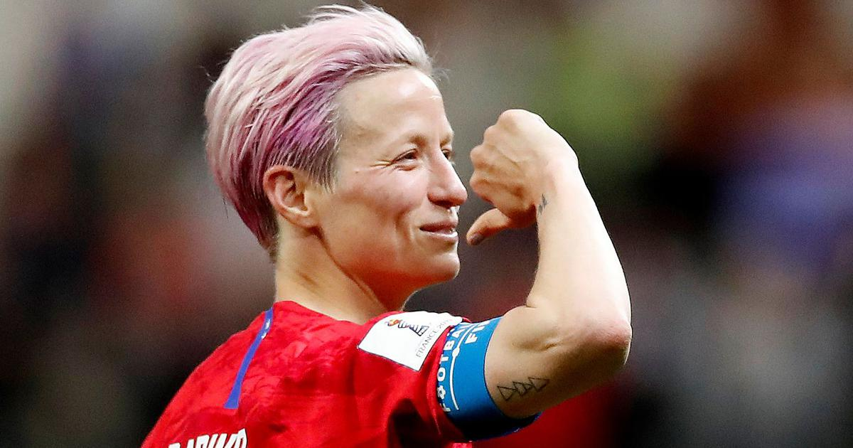 Megan Rapinoe: Leading USA's charge at Women's World Cup and facing fire from Donald Trump