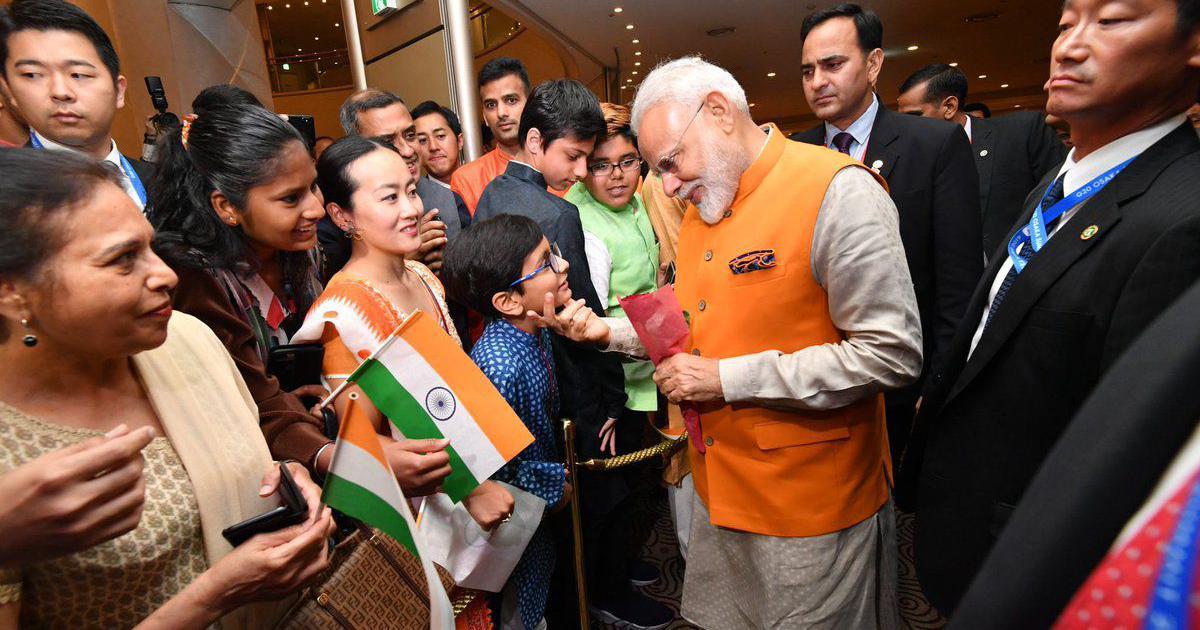 Narendra Modi thanks Indian diaspora in Japan for Lok Sabha mandate