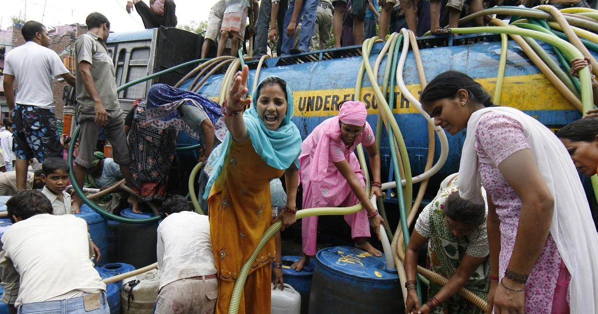Delhi's water crisis could be reversed – but every resident will have to pitch in to stop wastage