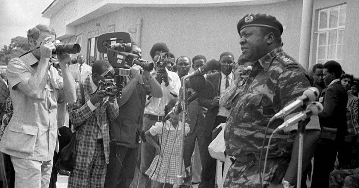 Never-seen photographs of the reign of Uganda's Idi Amin are