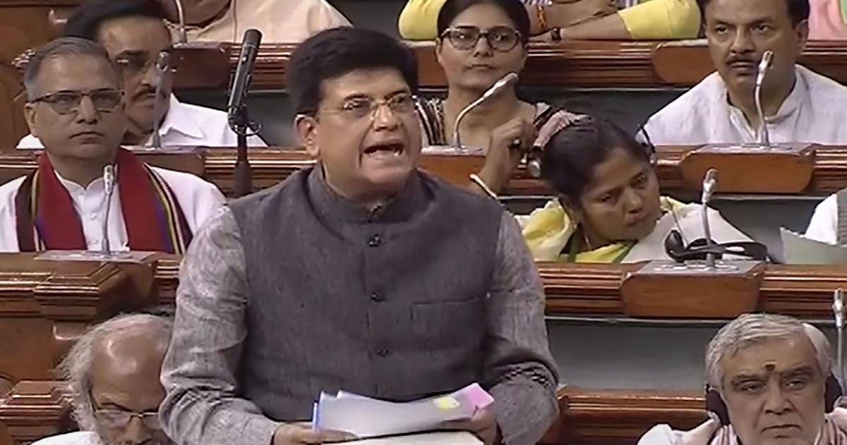 Piyush Goyal dismisses reports of privatisation of railways, says no such plan has been made