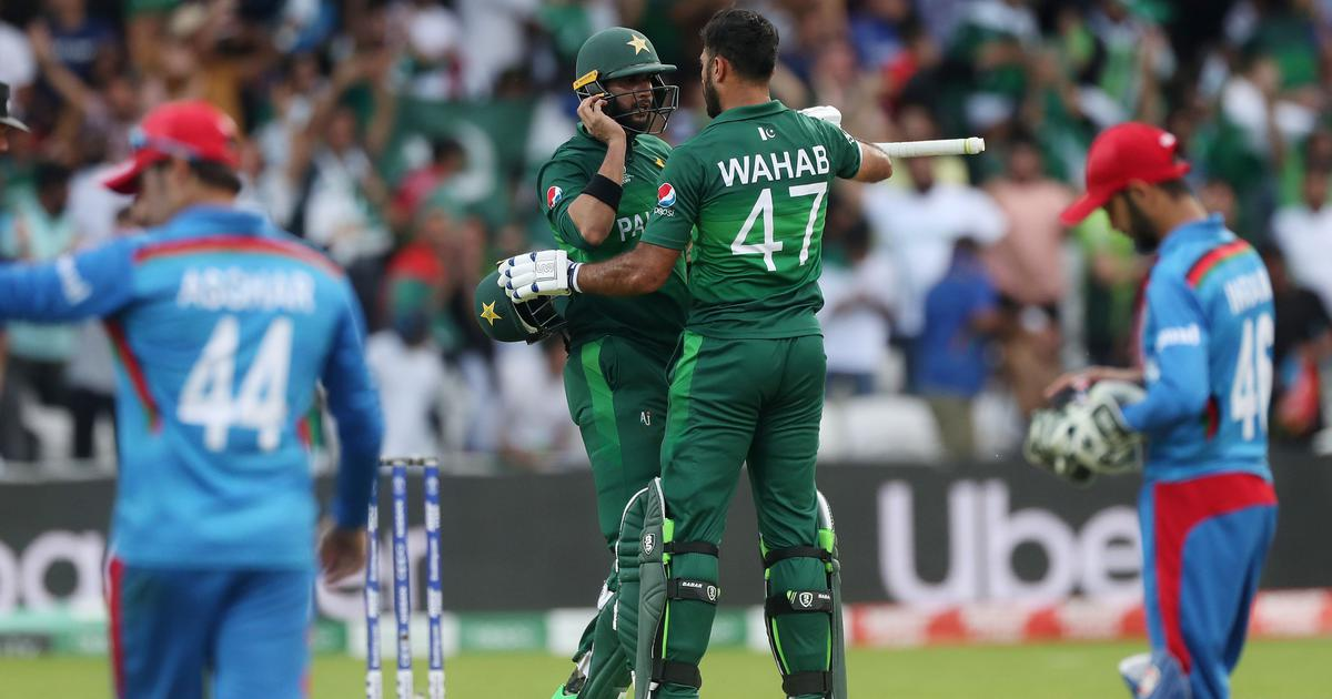 World Cup: Imad Wasim holds nerve to help Pakistan edge out spirited Afghanistan in epic clash