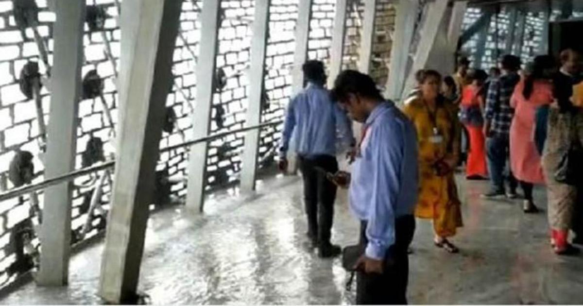 'It's by design': After water enters Statue of Unity viewing gallery, officials deny any defect