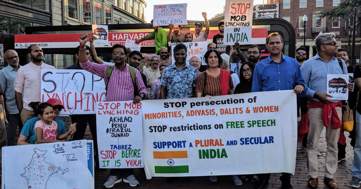 Lynchings in India: Rally in US condemns attacks on minorities, says they're a form of state terror