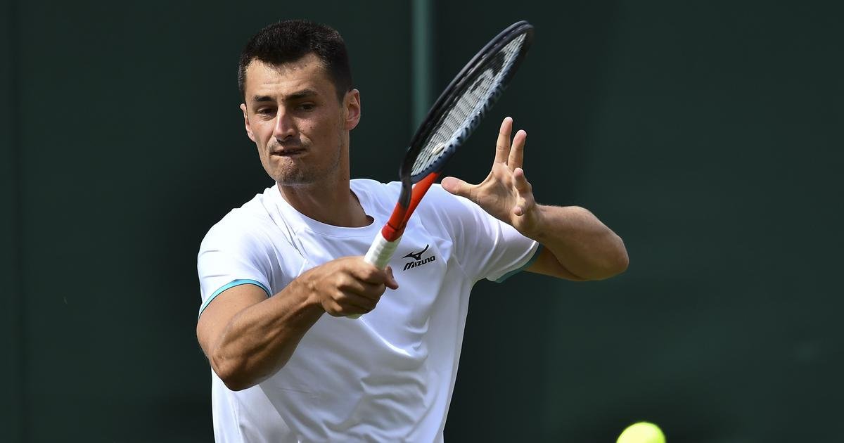 Wimbledon: Bernard Tomic faces fine after losing to Jo-Wilfried Tsonga in 58 minutes