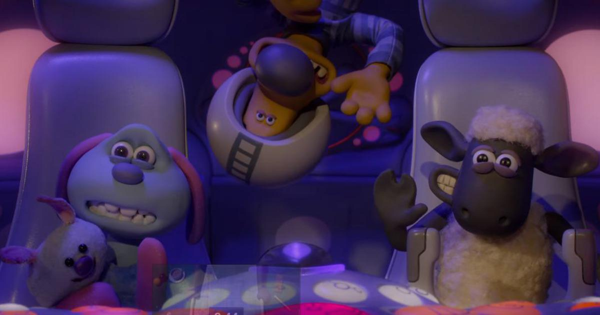 'Farmageddon' trailer: Shaun the sheep leaves Mossy Bottom for outer space