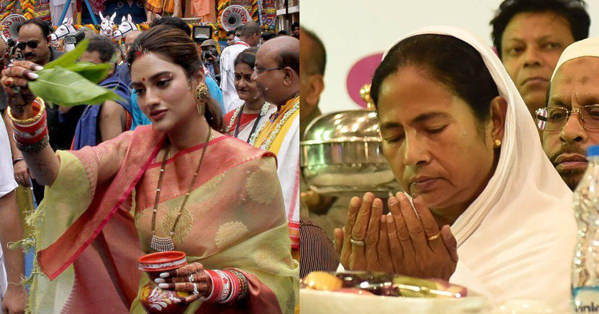 Hindutva paradox: Nusrat Jahan at Rath is secularism, Mamata at iftar is minority appeasement