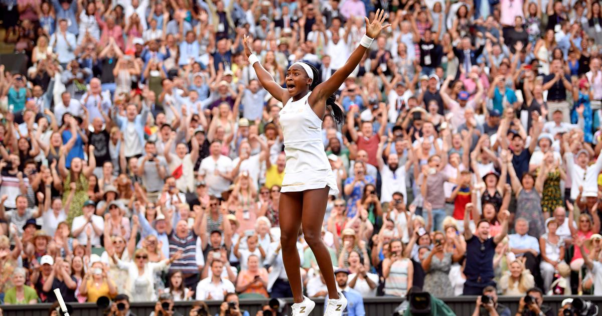 Saving match points, surviving spotlight, Cori Gauff shows she has the grit to match her game