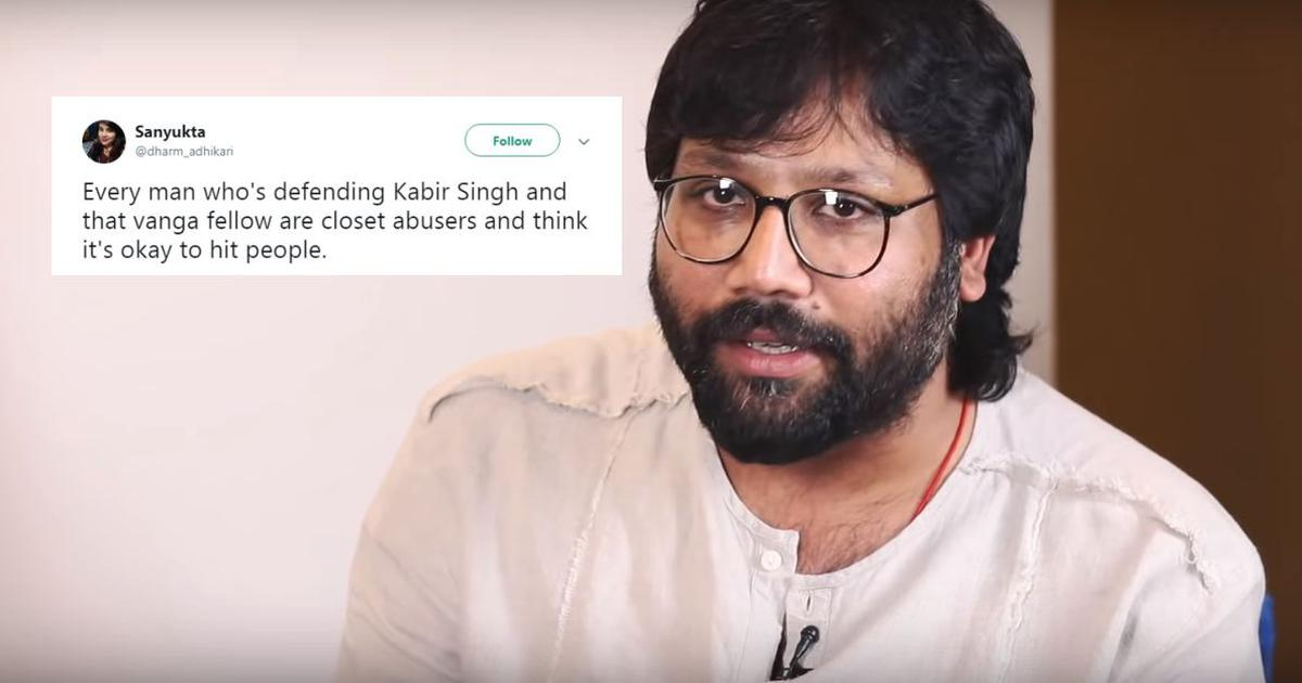 'Kabir Singh' director faces fire for an interview that seems to reinforce film's misogyny