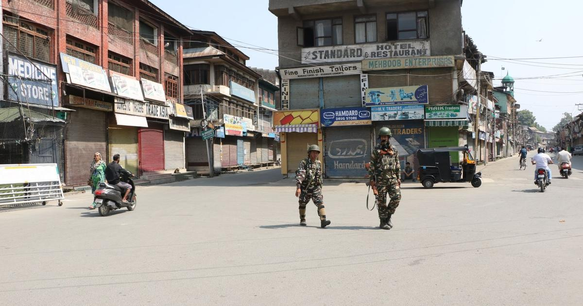 Burhan Wani death anniversary: Kashmir observes shutdown, curbs imposed in parts of Srinagar