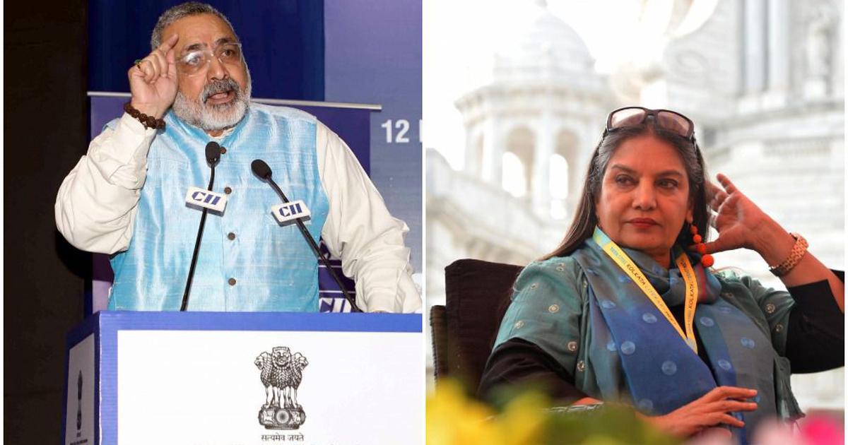 Union minister Giriraj Singh calls Shabana Azmi 'new leader of tukde tukde gang'