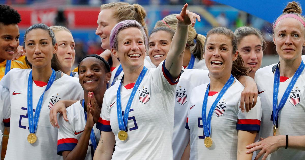 Fifa women's World Cup: Iconic Rapinoe, history maker Lloyd and other statistics from USA's triumph