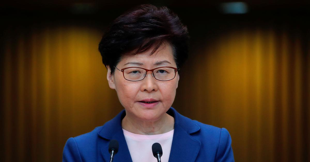 Hong Kong leader Carrie Lam says extradition bill is dead, protestors remain unmoved