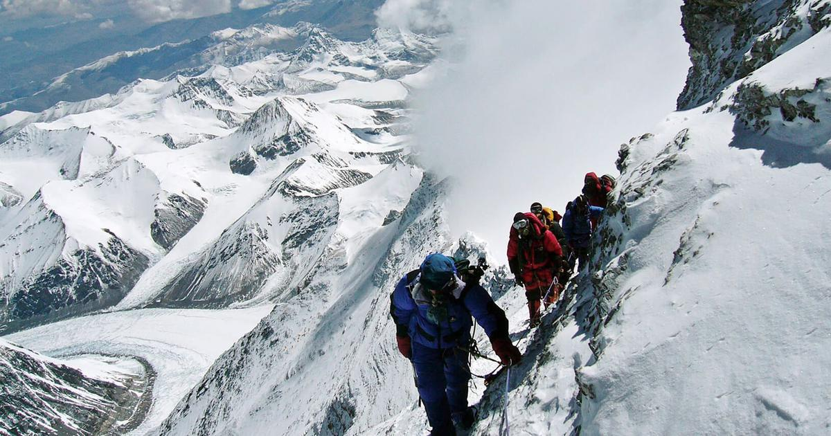 A researcher in tourism studies interviews people risking their lives in Everest 'death zone'