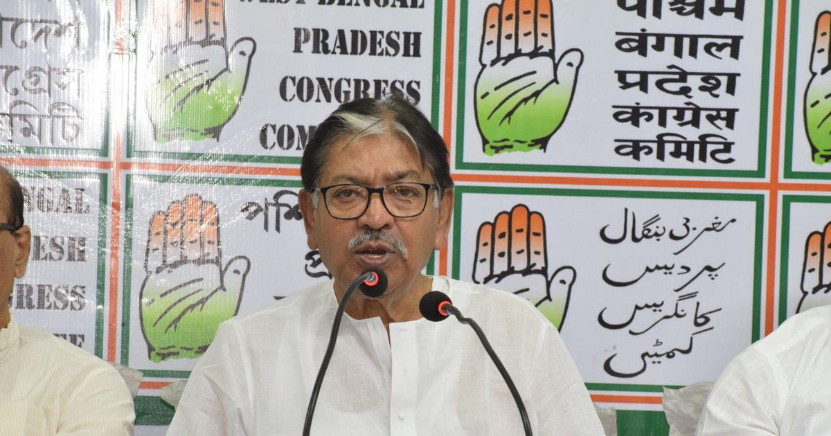 West Bengal Congress chief Somen Mitra offered to quit after Lok Sabha poll debacle, says party