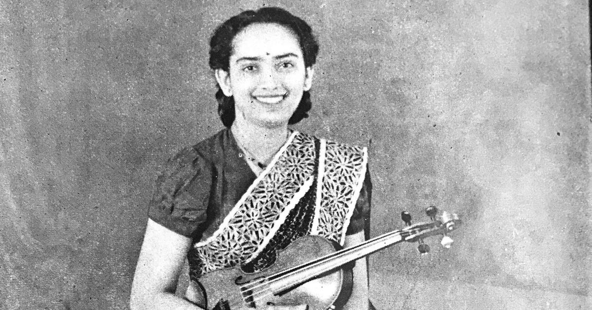 Remembering the Indian violin virtuoso who drew praise even from Yehudi Menuhin