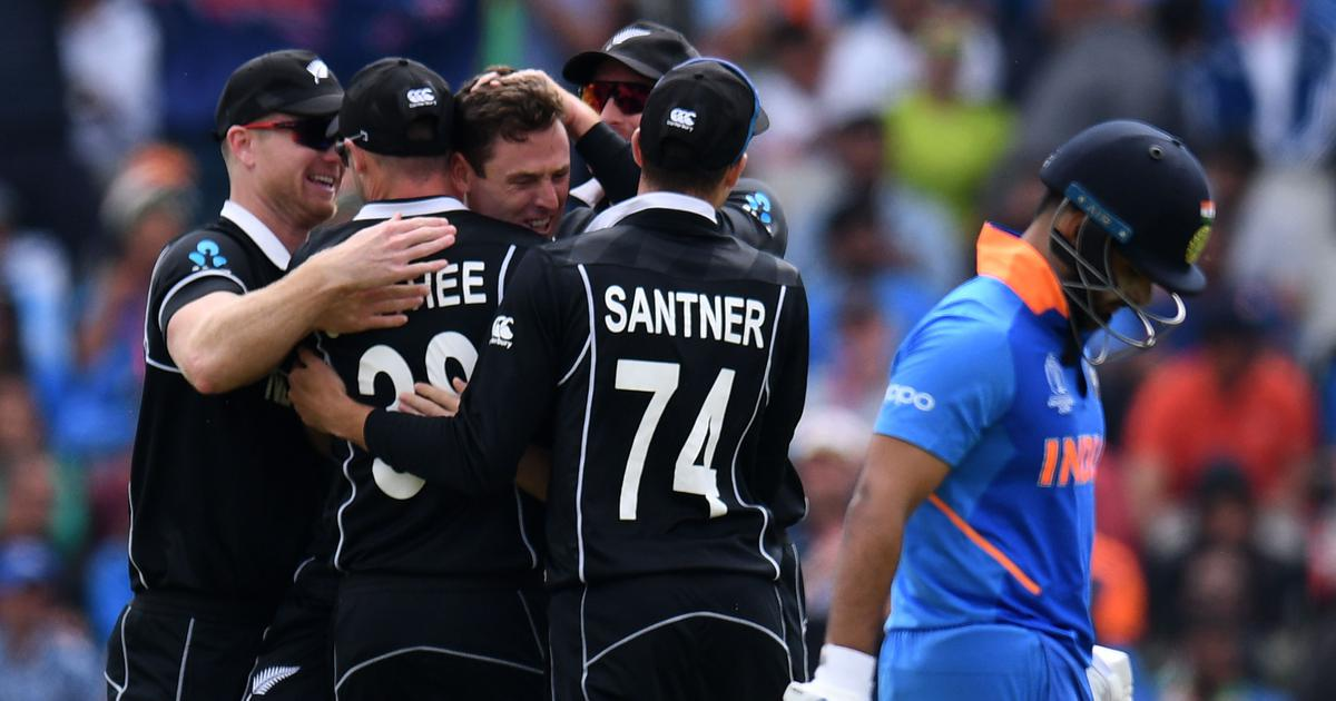 Despite Jadeja heroics, New Zealand beat India to reach second straight World Cup final