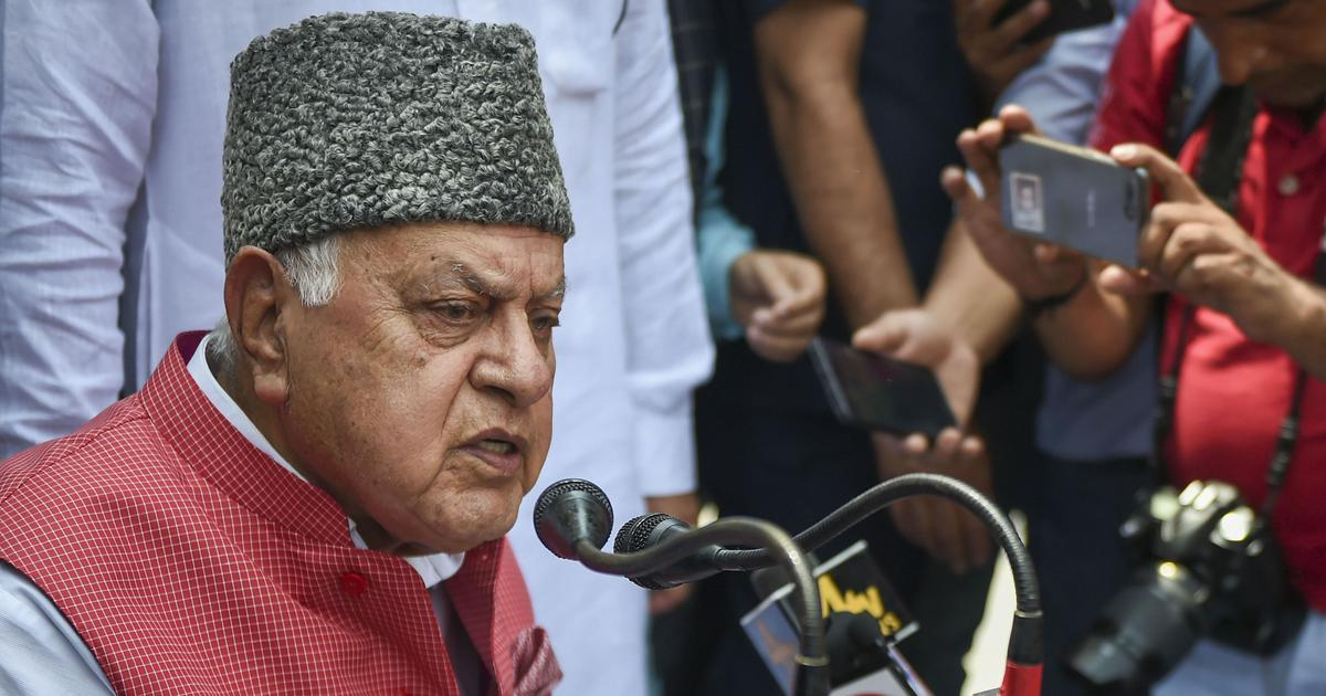 'Sad that home minister can lie like this': Farooq Abdullah counters Amit Shah's claims
