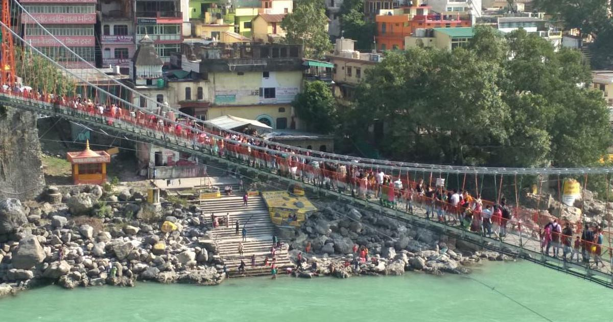 Rishikesh: Lakshman Jhula, the iconic suspension bridge, closed after experts flag damage risk