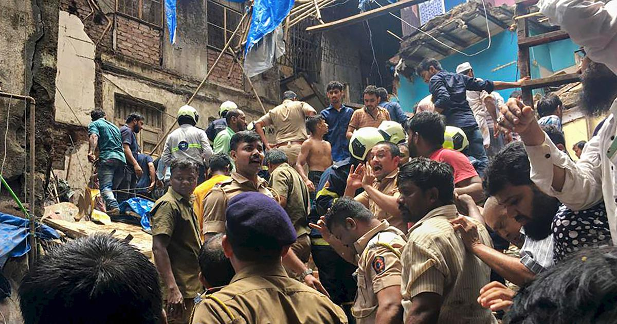 Mumbai: At least 11 dead, 40 feared trapped after building collapses in Dongri