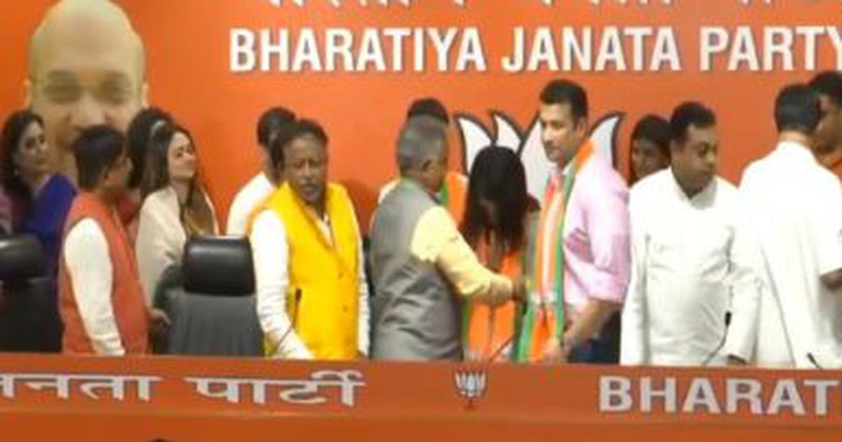 West Bengal: 13 television actors join BJP