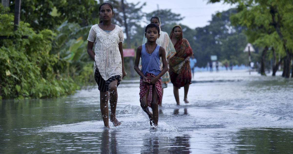 Over 100 people dead as floods worsen in Bihar and Assam