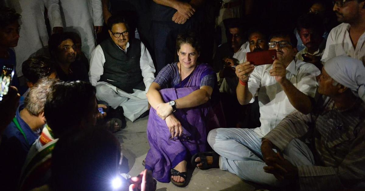 Sonbhadra killings: Priyanka Gandhi meets victims' relatives after being detained for 24 hours