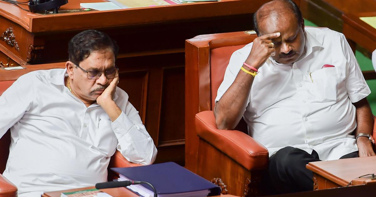 कर्नाटक विधानसभा के अध्यक्ष ने कयासों पर विराम लगाया, कहा - विश्वासमत पर वोटिंग आज ही होगी