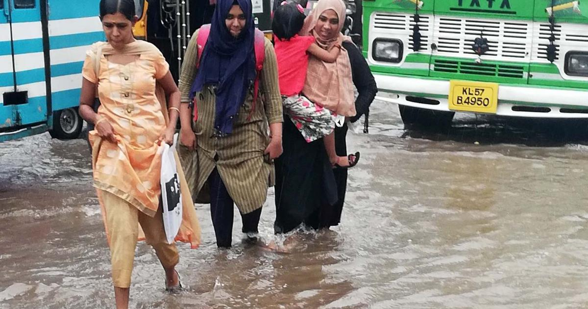Kerala: Four dead and two missing after heavy rainfall, red alert sounded in four districts