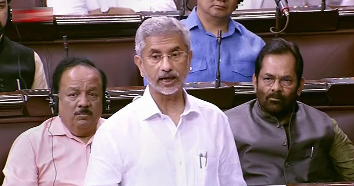प्रधानमंत्री ने डोनाल्ड ट्रंप से कश्मीर पर मध्यस्थता का अनुरोध कभी नहीं किया : एस जयशंकर
