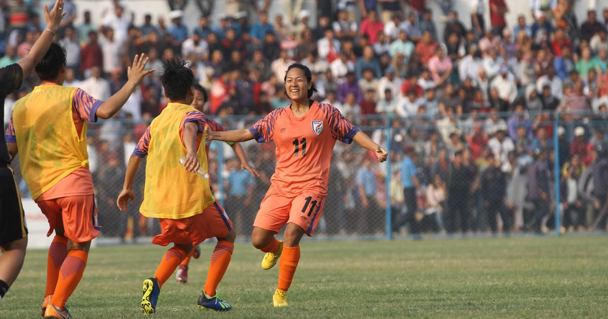 From defender in Manipur to forward in Indian football team: Tracing the journey of Dangmei Grace