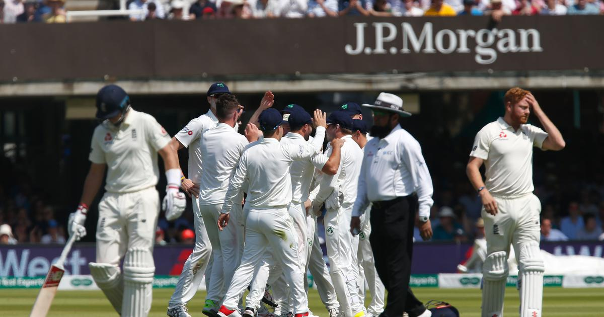 Lord's Test: England's shortest innings at home and other numbers as Ireland dismiss hosts for 85