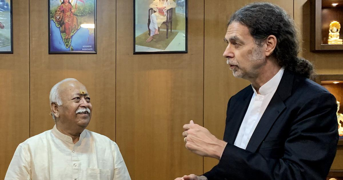 When German envoy met RSS chief, did he warn him about the perils of taking a majoritarian path?