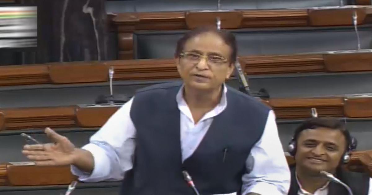 आजम खान की टिप्पणी के खिलाफ संसद एक, लोकसभा अध्यक्ष सभी दलों के नेताओं के साथ बैठक करेंगे