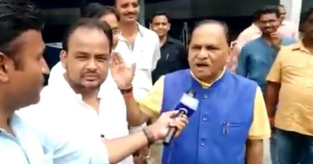 Watch: BJP MLA asks Congress' Irfan Ansari to chant 'Jai Shri Ram' outside Jharkhand Assembly