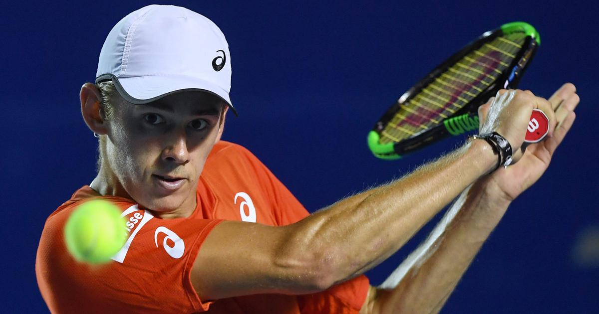 Tennis: Alex de Minaur advance to Atlanta Open semi-finals after Bernard Tomic retires