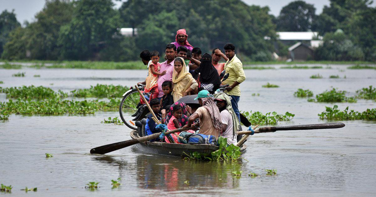 Rain-related calamities have killed 2,000 Indians every year since 2016