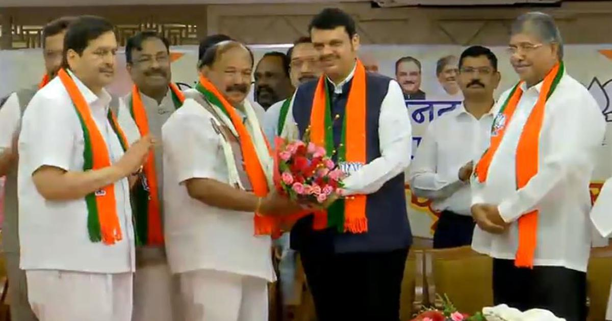 Maharashtra: Three NCP MLAs, one from Congress join BJP a day after resigning from parties