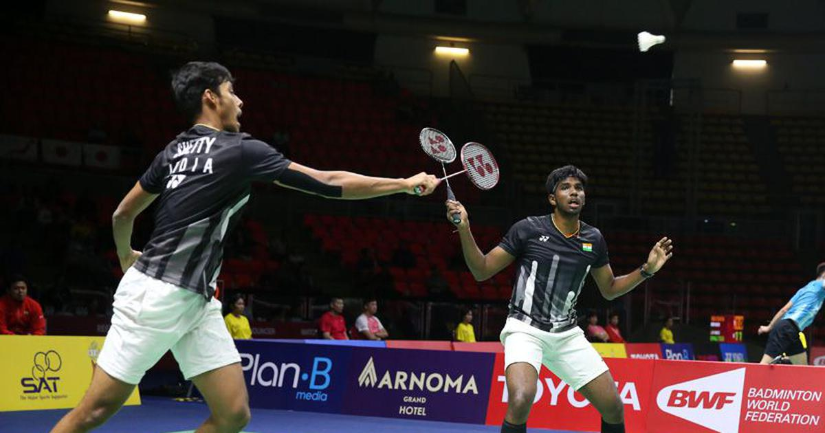 Thailand Open: Satwik-Chirag defeat former world champions Ko-Shin to reach men's doubles final