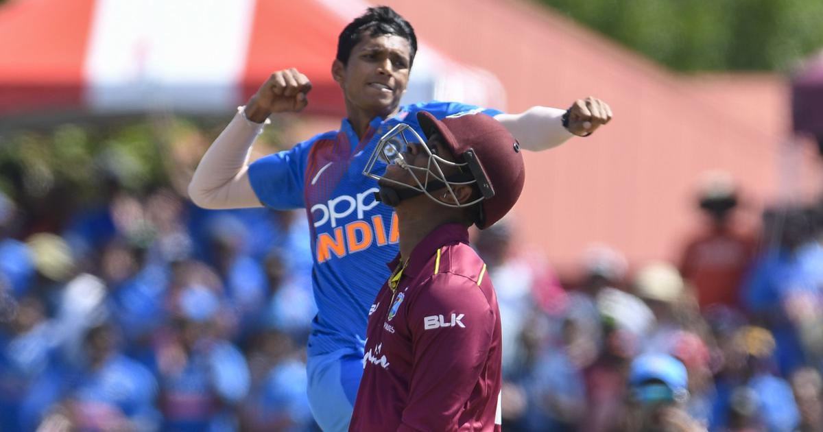 टी-20 सीरीज : भारत ने वेस्टइंडीज को चार विकेट से हराया