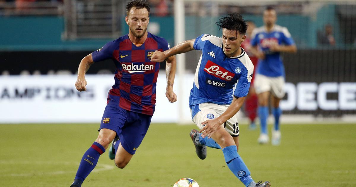 Transfer wrap: Barcelona midfielder Rakitic rejoins Sevilla, Mkhitaryan makes Roma move permanent