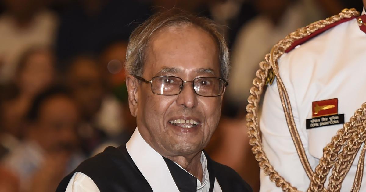 Former President Pranab Mukherjee dies at 84, Centre announces seven-day mourning