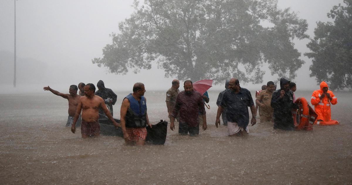 केरल में बारिश और बाढ़ से मरने वालों का आंकड़ा 28 तक पहुंचा
