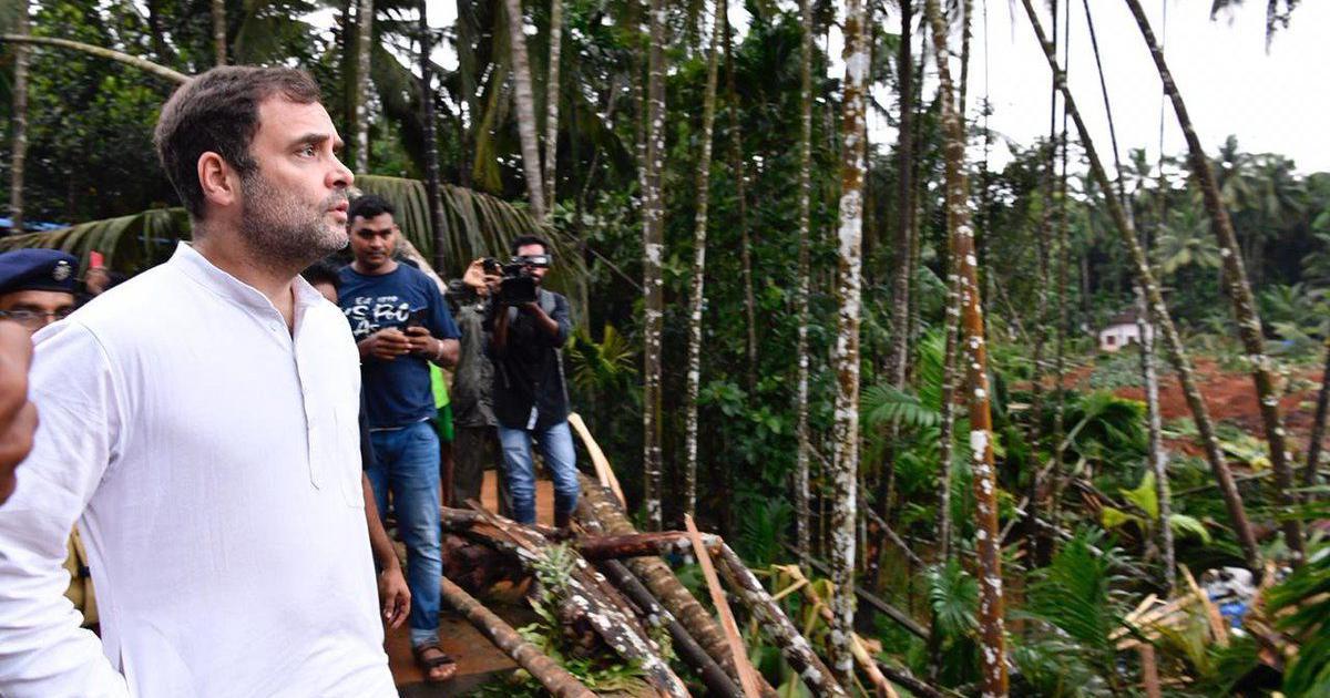 Kerala floods: 'Heartbreaking to see what people have lost,' says Rahul Gandhi in Wayanad
