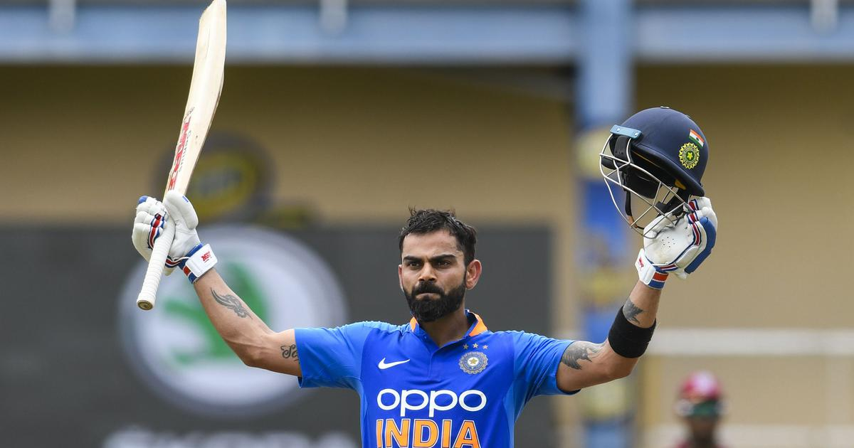 Third ODI: Kohli becomes first player to score 20,000 international runs in a decade and other stats