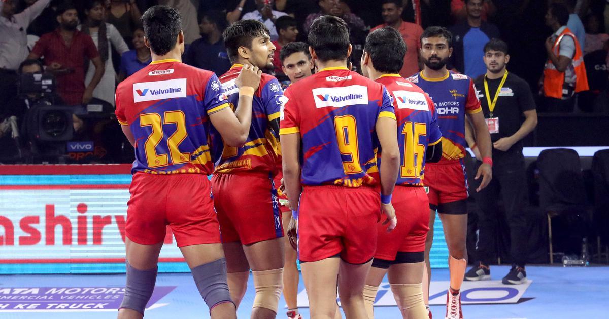 Pro Kabaddi: UP Yoddha upset Bengaluru Bulls; Telugu Titans, Bengal Warriors play out thrilling tie