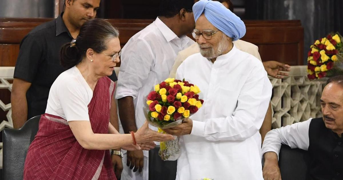 Former PM Manmohan Singh files nomination for Rajya Sabha seat from Rajasthan