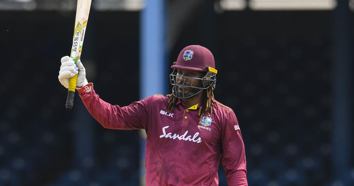 King of entertainment: Twitter salutes Chris Gayle after blistering knock in likely his last ODI