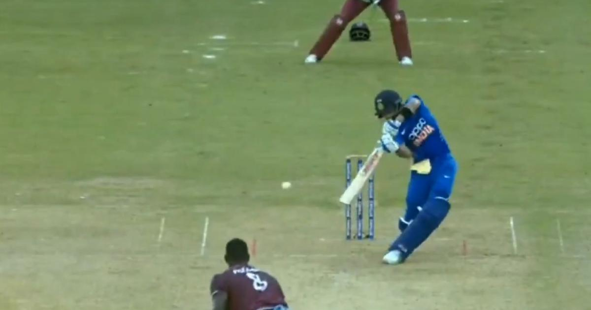 Watch: Virat Kohli's lofted cover drive in third ODI makes Viv Richards wish he had played it